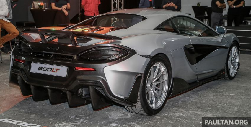 McLaren 600LT previewed in Malaysia – 600 PS 3.8L biturbo V8, 0-100 km/h in 2.9 secs, RM998k before tax Image #916111