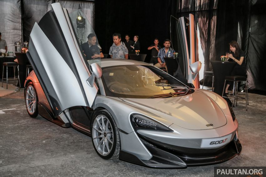 McLaren 600LT previewed in Malaysia – 600 PS 3.8L biturbo V8, 0-100 km/h in 2.9 secs, RM998k before tax Image #916123