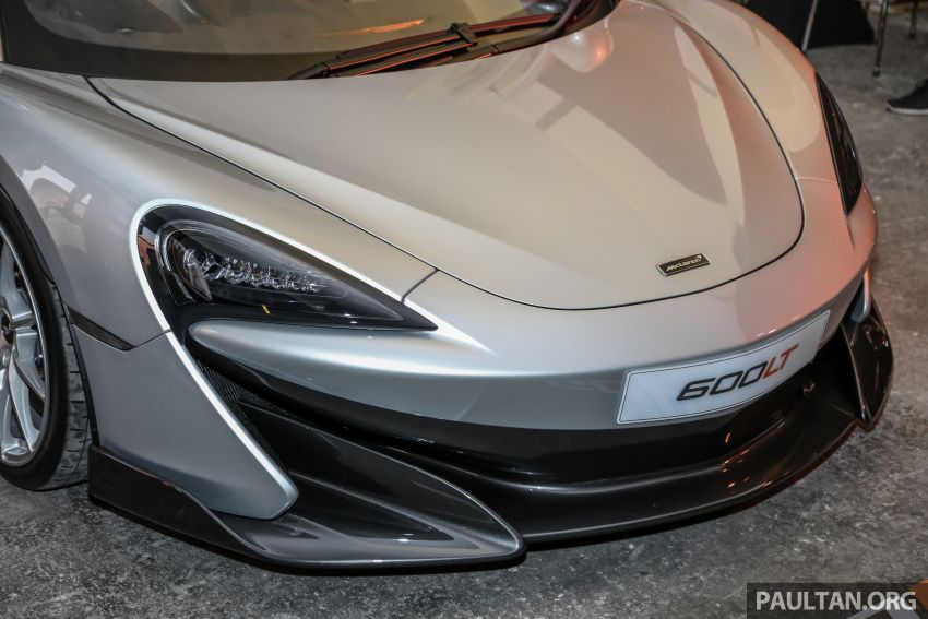 McLaren 600LT previewed in Malaysia – 600 PS 3.8L biturbo V8, 0-100 km/h in 2.9 secs, RM998k before tax Image #916125