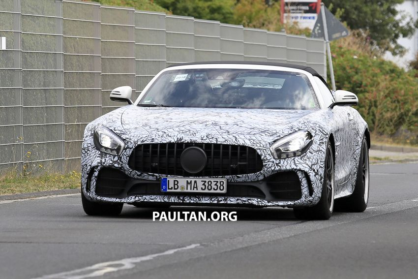 Mercedes-AMG GT R Roadster hinted via document Image #907949