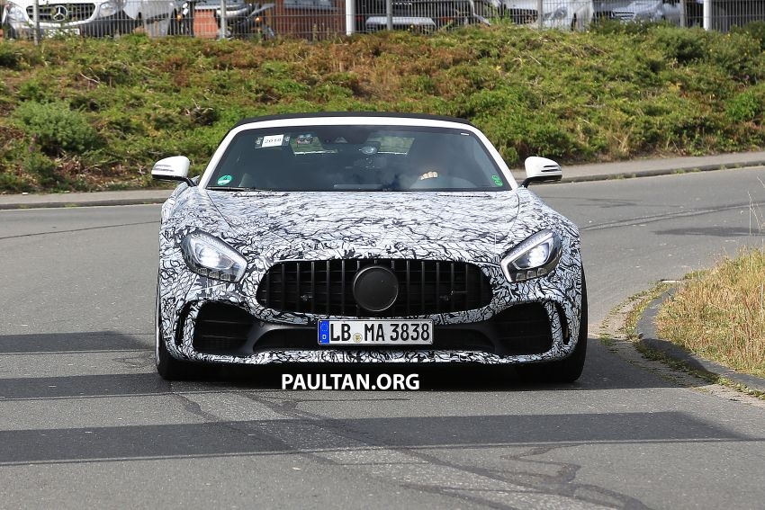 Mercedes-AMG GT R Roadster hinted via document Image #907960