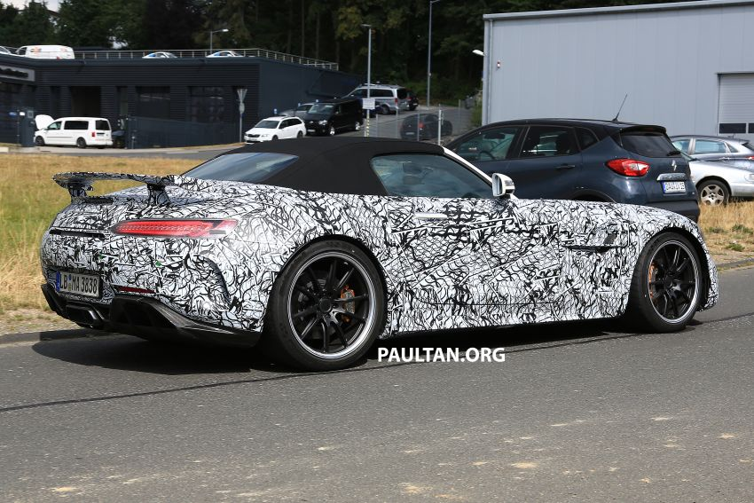 Mercedes-AMG GT R Roadster hinted via document Image #907966