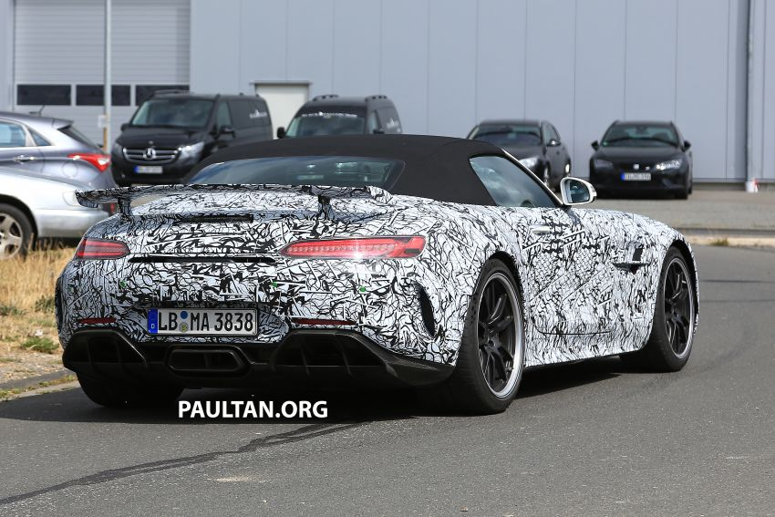 Mercedes-AMG GT R Roadster hinted via document Image #907968