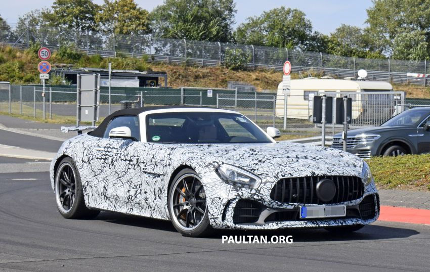 Mercedes-AMG GT R Roadster hinted via document Image #907972