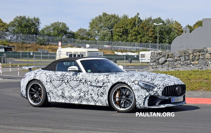 Mercedes-AMG GT R Roadster hinted via document Image #907973