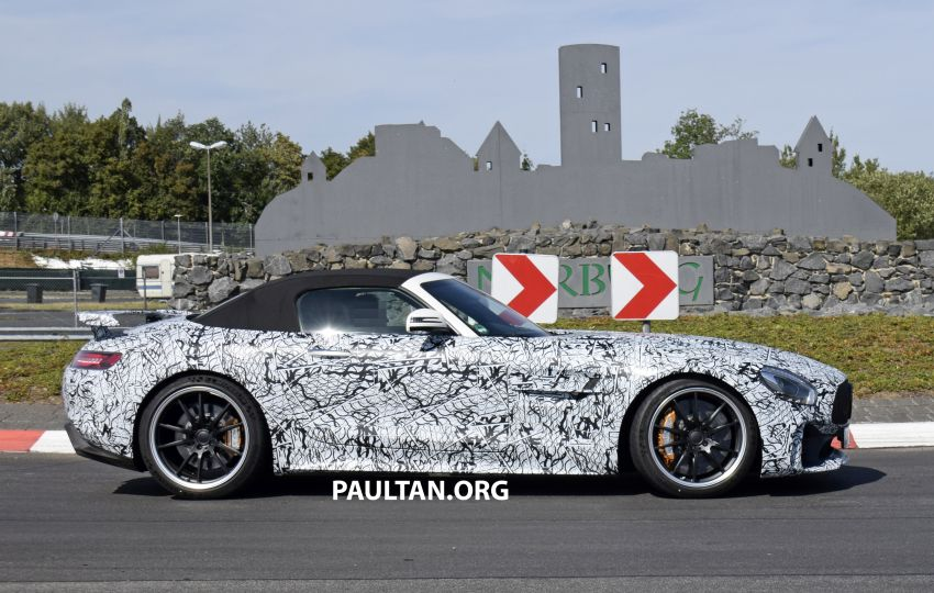 Mercedes-AMG GT R Roadster hinted via document Image #907974