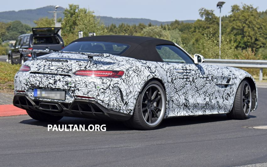 Mercedes-AMG GT R Roadster hinted via document Image #907976