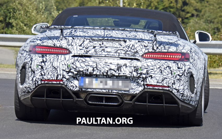 Mercedes-AMG GT R Roadster hinted via document Image #907977