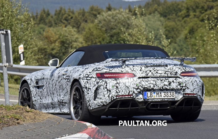 Mercedes-AMG GT R Roadster hinted via document Image #907979