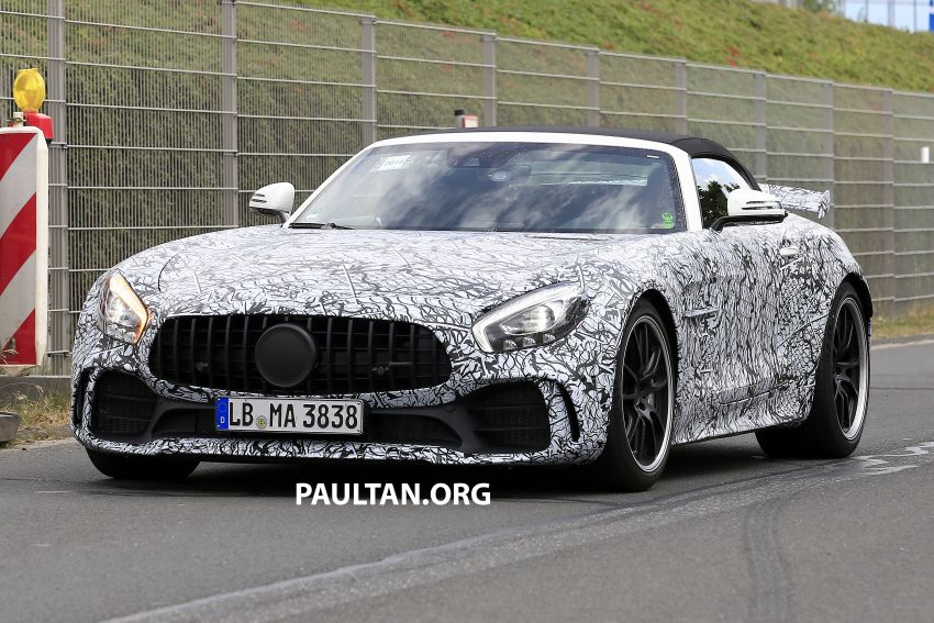 Mercedes-AMG GT R Roadster hinted via document Image #907951
