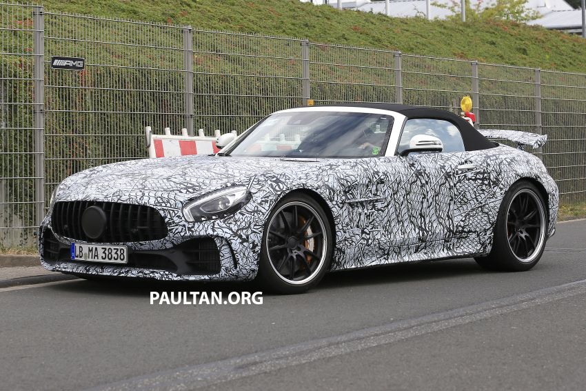 Mercedes-AMG GT R Roadster hinted via document Image #907952