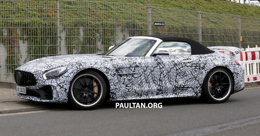 Mercedes-AMG GT R Roadster hinted via document Image #907953