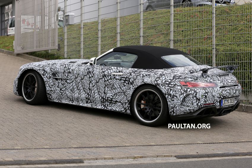 Mercedes-AMG GT R Roadster hinted via document Image #907955