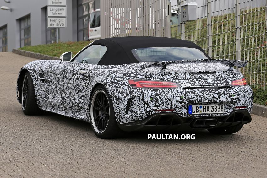 Mercedes-AMG GT R Roadster hinted via document Image #907957