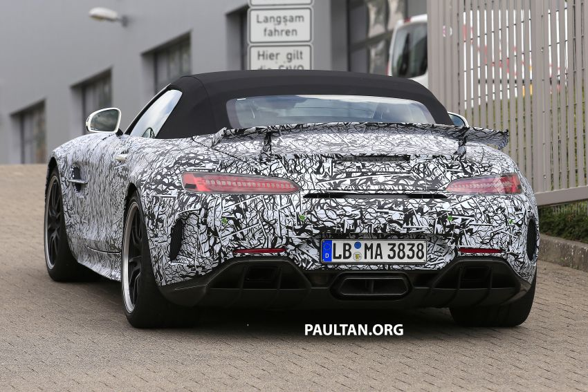 Mercedes-AMG GT R Roadster hinted via document Image #907959