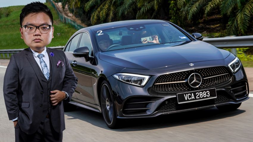 FIRST DRIVE: Mercedes-Benz CLS450 AMG Line Image #907423