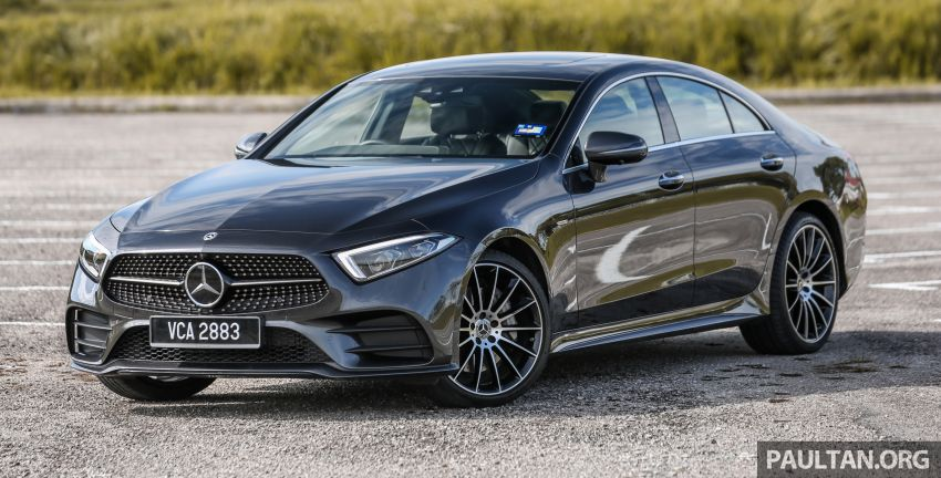FIRST DRIVE: Mercedes-Benz CLS450 AMG Line Image #907309