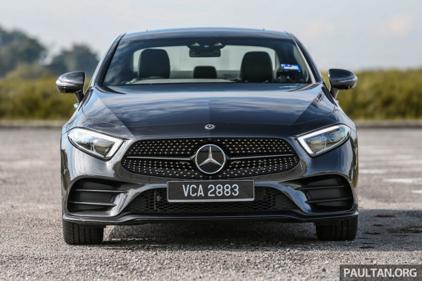 FIRST DRIVE: Mercedes-Benz CLS450 AMG Line Image #907319