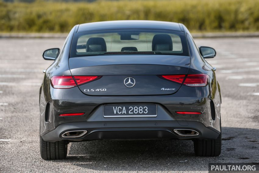 FIRST DRIVE: Mercedes-Benz CLS450 AMG Line Image #907320
