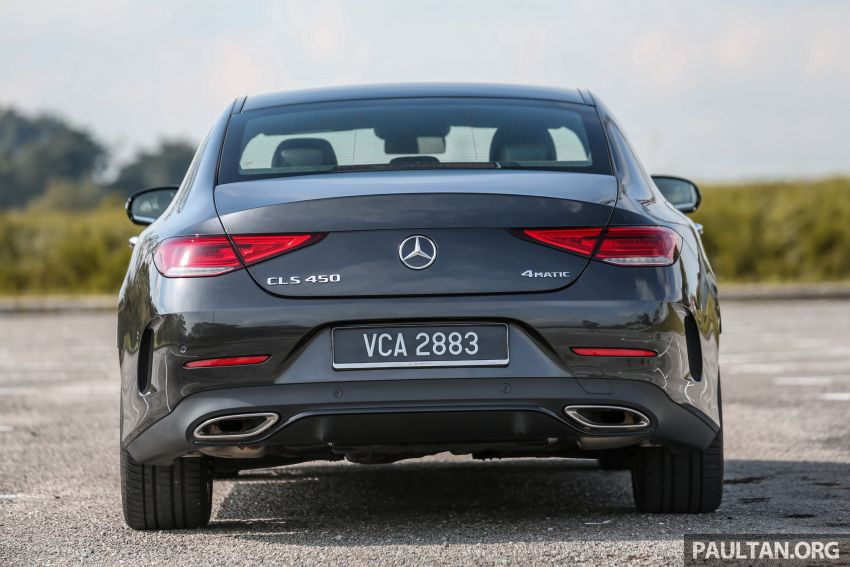 FIRST DRIVE: Mercedes-Benz CLS450 AMG Line Image #907321