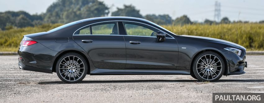FIRST DRIVE: Mercedes-Benz CLS450 AMG Line Image #907323