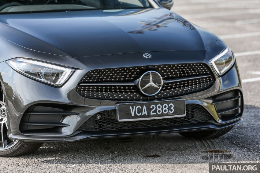 FIRST DRIVE: Mercedes-Benz CLS450 AMG Line Image #907324