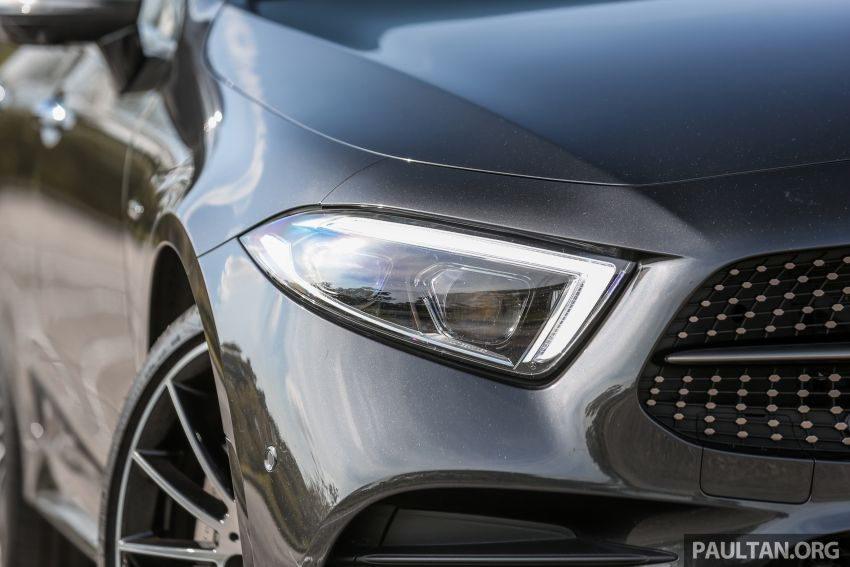 FIRST DRIVE: Mercedes-Benz CLS450 AMG Line Image #907325