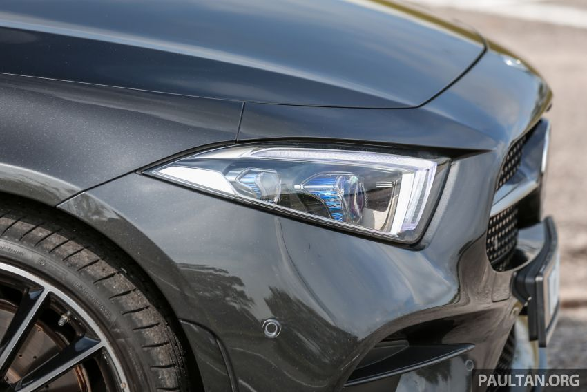 FIRST DRIVE: Mercedes-Benz CLS450 AMG Line Image #907326
