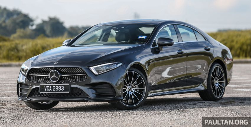 FIRST DRIVE: Mercedes-Benz CLS450 AMG Line Image #907310