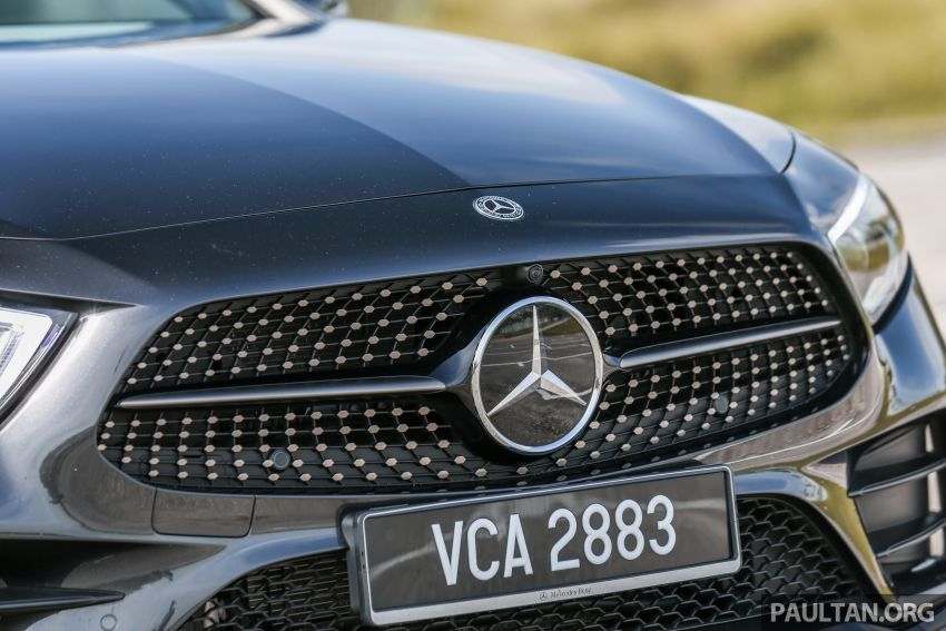FIRST DRIVE: Mercedes-Benz CLS450 AMG Line Image #907329