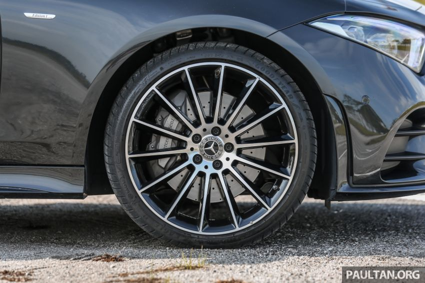 FIRST DRIVE: Mercedes-Benz CLS450 AMG Line Image #907331
