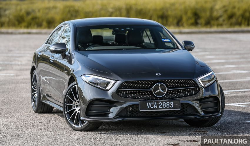 FIRST DRIVE: Mercedes-Benz CLS450 AMG Line Image #907311