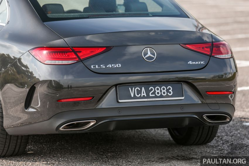 FIRST DRIVE: Mercedes-Benz CLS450 AMG Line Image #907339