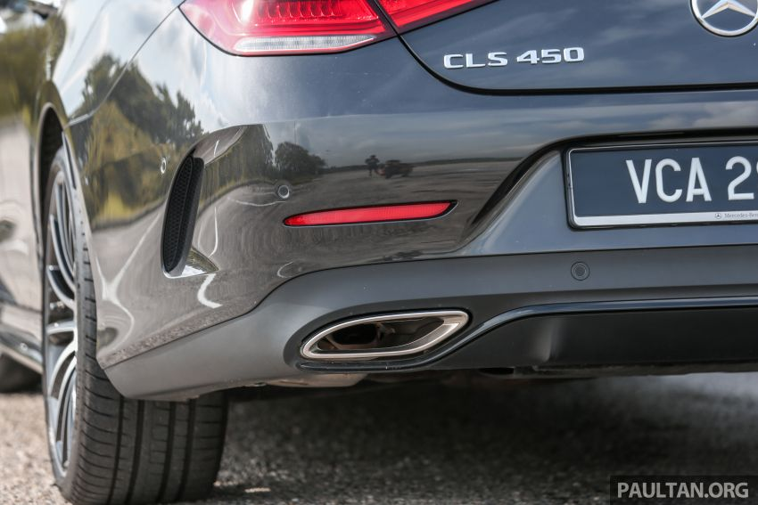 FIRST DRIVE: Mercedes-Benz CLS450 AMG Line Image #907342