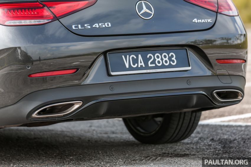 FIRST DRIVE: Mercedes-Benz CLS450 AMG Line Image #907344