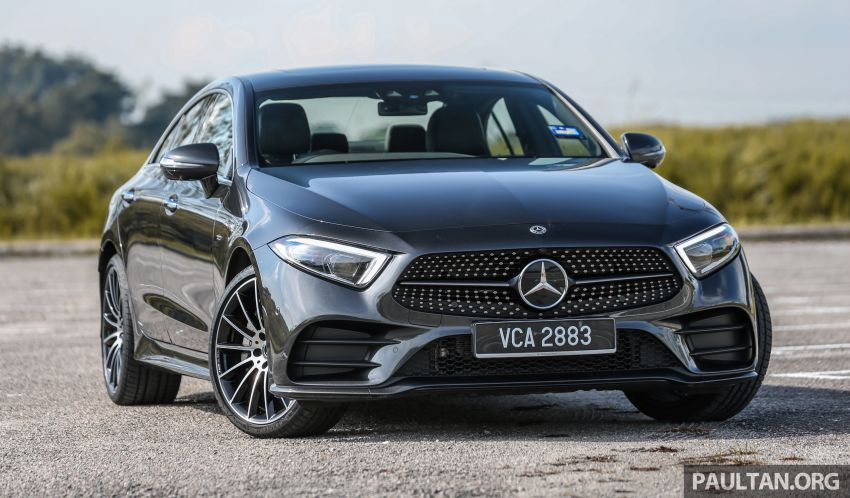 FIRST DRIVE: Mercedes-Benz CLS450 AMG Line Image #907312