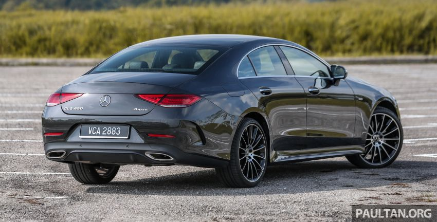 FIRST DRIVE: Mercedes-Benz CLS450 AMG Line Image #907313