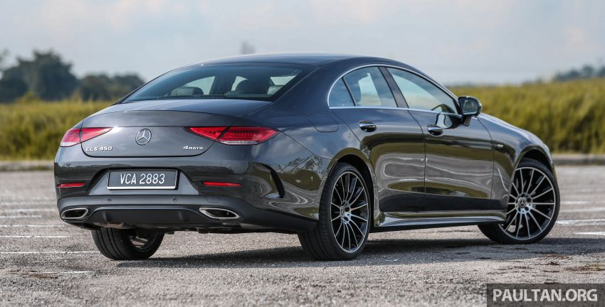 FIRST DRIVE: Mercedes-Benz CLS450 AMG Line Image #907314