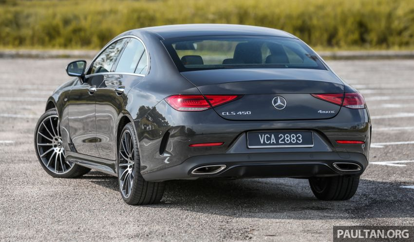 FIRST DRIVE: Mercedes-Benz CLS450 AMG Line Image #907315
