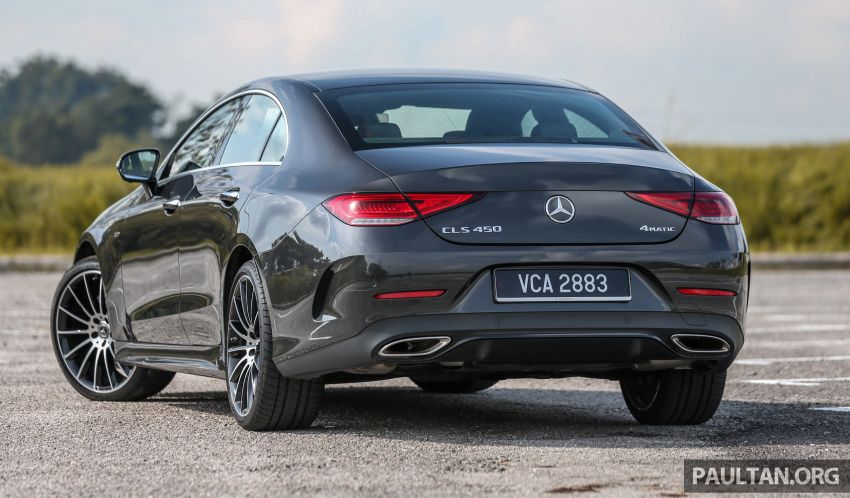 FIRST DRIVE: Mercedes-Benz CLS450 AMG Line Image #907316