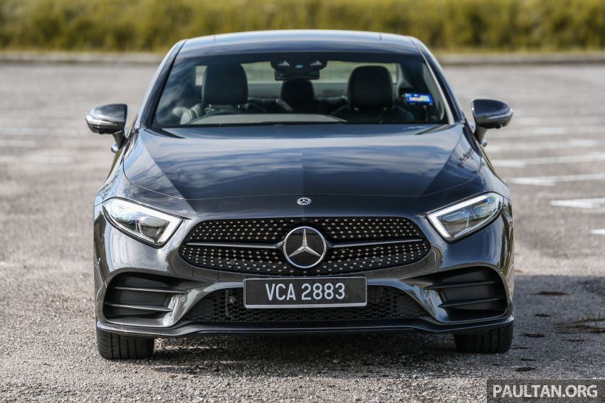 FIRST DRIVE: Mercedes-Benz CLS450 AMG Line Image #907317