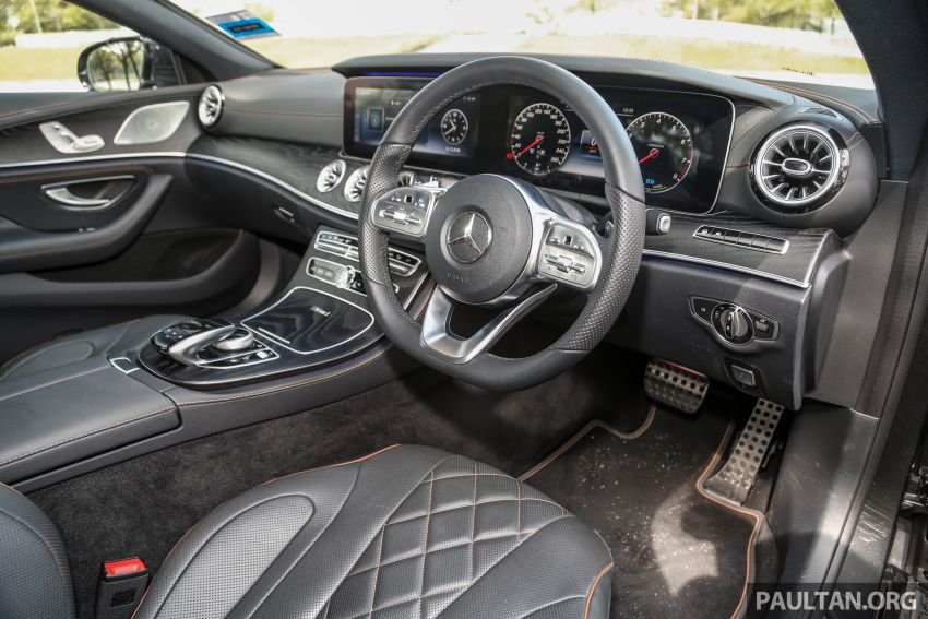 FIRST DRIVE: Mercedes-Benz CLS450 AMG Line Image #907347