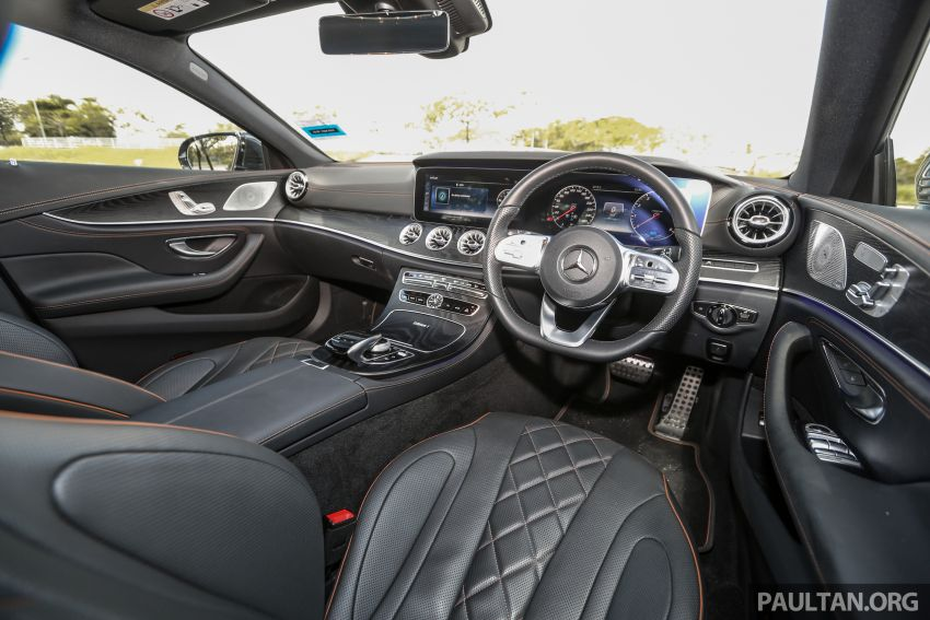 FIRST DRIVE: Mercedes-Benz CLS450 AMG Line Image #907361
