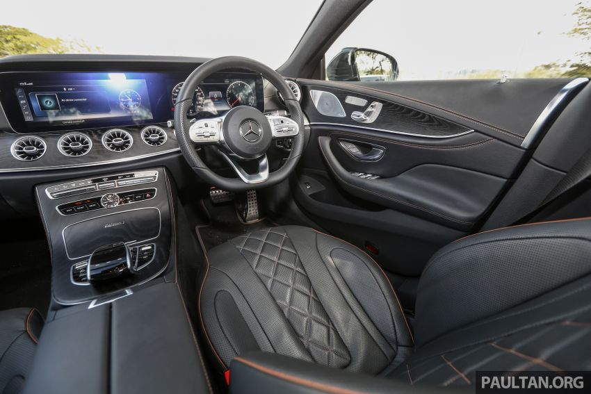 FIRST DRIVE: Mercedes-Benz CLS450 AMG Line Image #907362