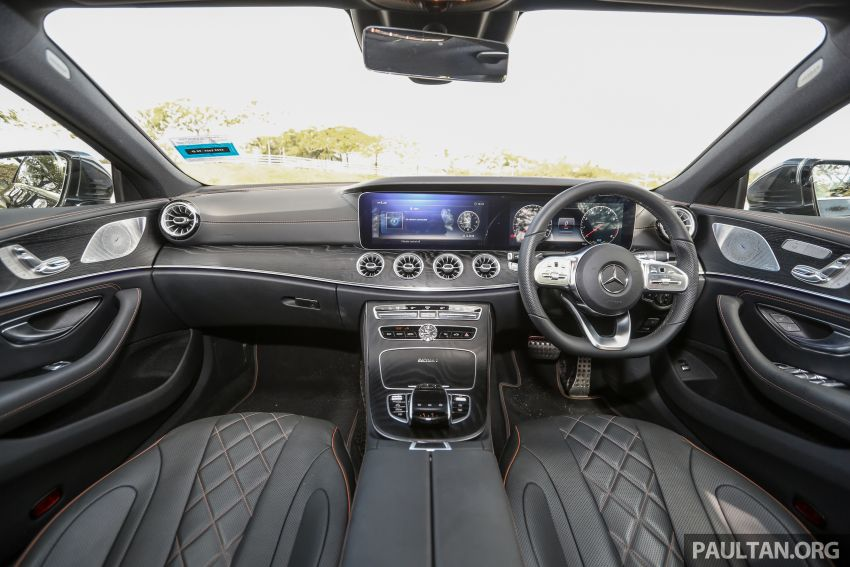 FIRST DRIVE: Mercedes-Benz CLS450 AMG Line Image #907348