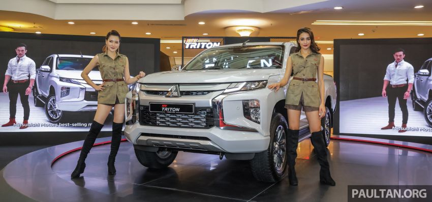 2019 Mitsubishi Triton launched – Dynamic Shield face, 2.4L MIVEC and 6-speed for all, from RM100k Image #917508