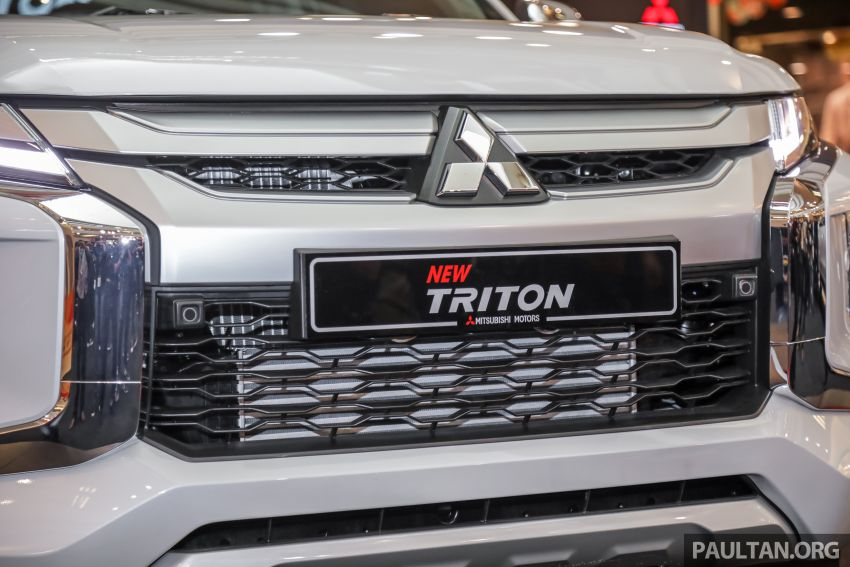 2019 Mitsubishi Triton launched – Dynamic Shield face, 2.4L MIVEC and 6-speed for all, from RM100k Image #917598