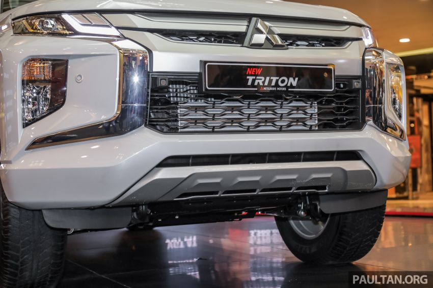 2019 Mitsubishi Triton launched – Dynamic Shield face, 2.4L MIVEC and 6-speed for all, from RM100k Image #917599