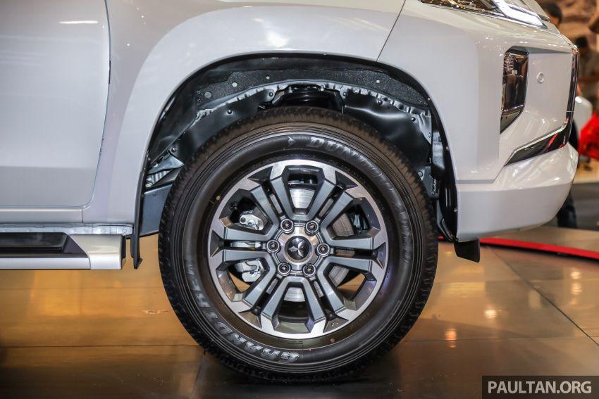 Mitsubishi Triton 2019 dilancarkan di M'sia secara rasmi – 6-kelajuan auto, 5 varian, dari RM100k-RM135k Image #917519