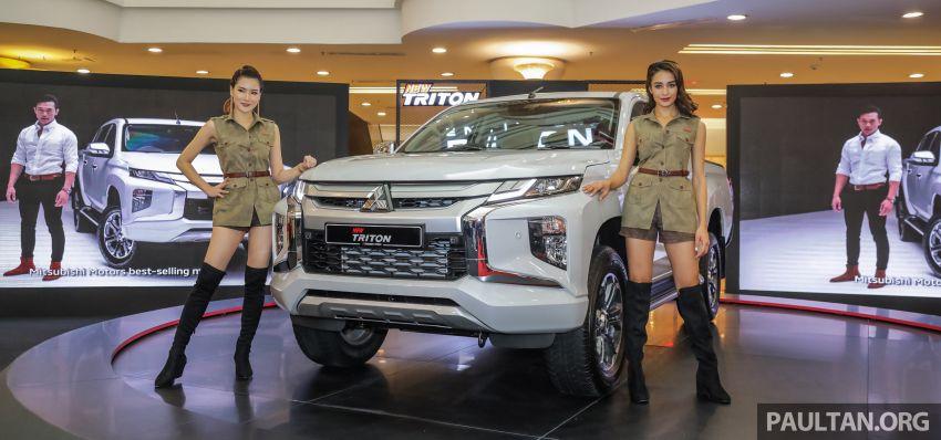 Mitsubishi Triton 2019 dilancarkan di M'sia secara rasmi – 6-kelajuan auto, 5 varian, dari RM100k-RM135k Image #917500